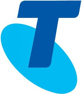 logotipo de telstra