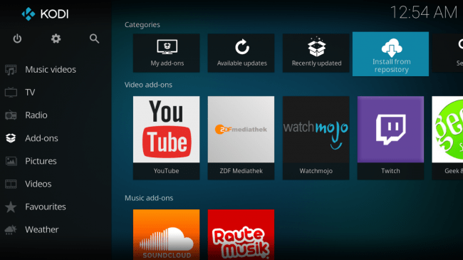 Kodi-Add-Ons